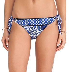 Nanette Lepore Etienne Vamp String Bikini Bottoms
